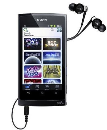 Sony Walkman Z Series Z1000
