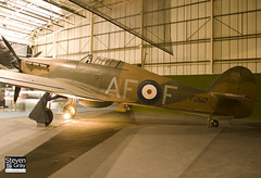 P2617 - Royal Air Force - Hawker Hurricane I - 080203 - RAF Museum Hendon - Steven Gray - IMG_7345