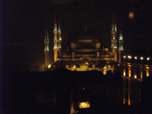 Blue Mosque on New Year's Eve