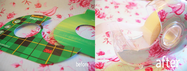 How to upcycle a tape holder