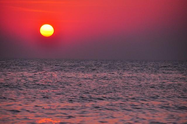 Sunrise Magic, Hua Hin, Beach