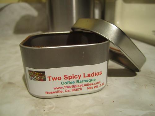 Coffee BBQ Tin