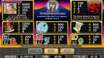 free Quest of Kings slot mini symbol