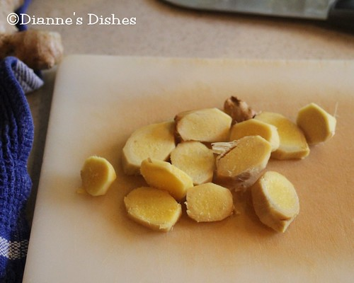 Make Your Own Ginger Ale: Chopped Ginger