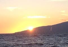 Sunset over Lanai 2