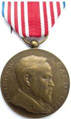 Carnegie Hero Medal Belgium obverse