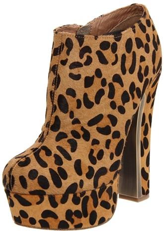 Ziginy Women´s Jordan Leopard Print Ankle Boots