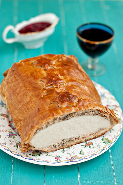 "roulade ""wellington"" from turkey"