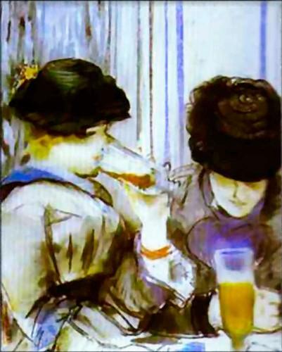 Manet-women-drinking-bock