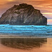 Face Rock Bandon Oregon by agilityrunner