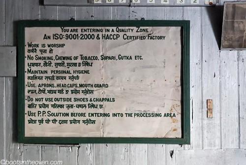 Rules at Makaibari