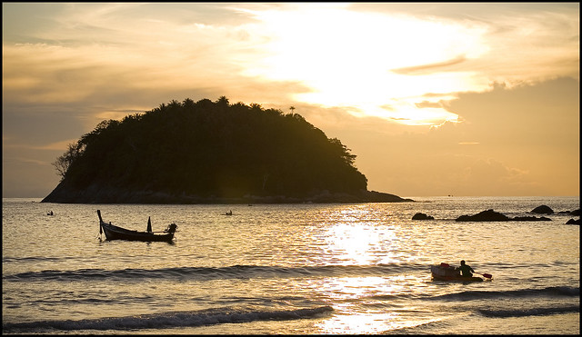 Sunset at Kata Beach Phuket