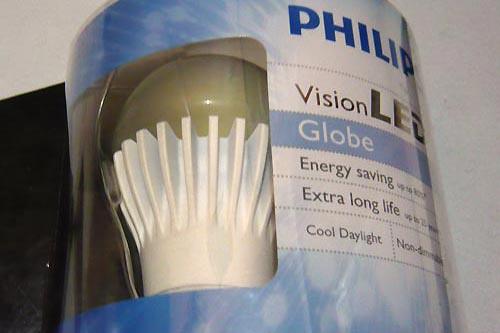 Lampu LED yang teknologi hijau