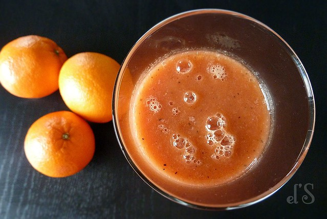 Smoothie orange