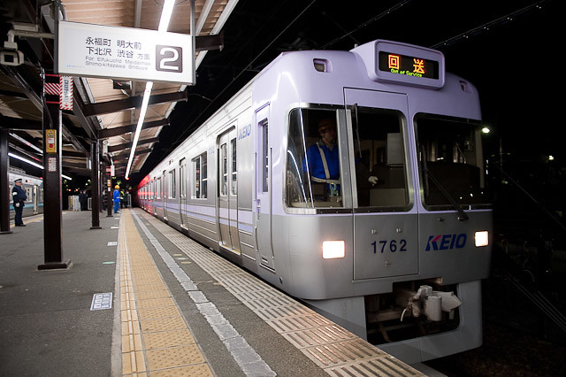 京王電鉄井の頭線1000系 1012F 搬出回送