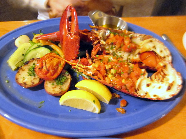 Broiled Whole Lobster