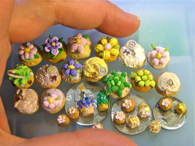Polymer Clay Sweets Desserts Cakes Cupcakes Frosting