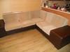 Перетяжка сидений и спинок углового дивана