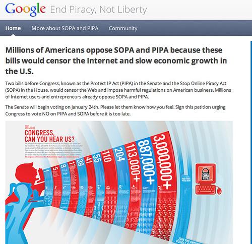 Google Against SOPA