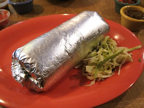 chili verde chicken burrito