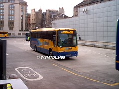 KSK 979 Volvo B12M Plaxton Pagagon. EDINBURGH Bus Station