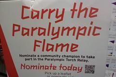 Sainsburys Paralympic Flame QR code