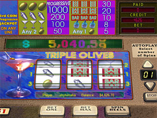 Triple Olives slot game online review