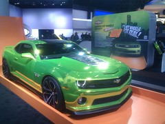 chevrolet, automobile, automotive exterior, exhibition, wheel, vehicle, custom car, automotive design, auto show, bumper, land vehicle, chevrolet camaro, coupã©, motor vehicle,
