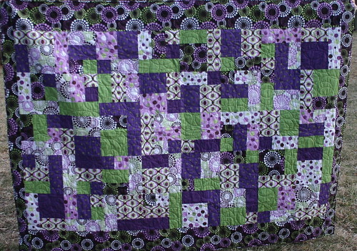 Janice's First Quilt by myfullcolorlife - Vickie