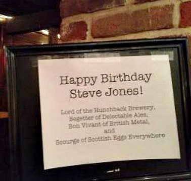 Happy Birthday, Mr. Jones!