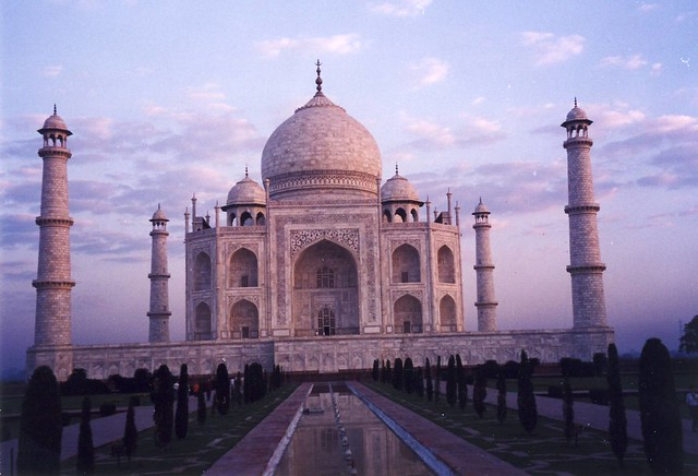 Taj Mahal at dawn, 6:30 am