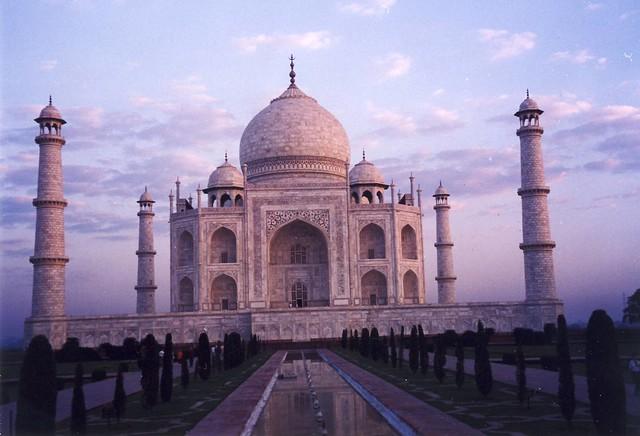 Taj Mahal at dawn, 6:30 am