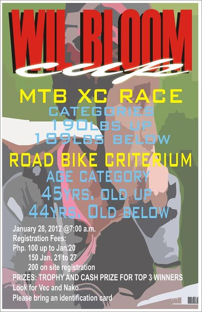 1st Wil Bloom MTB XC Race