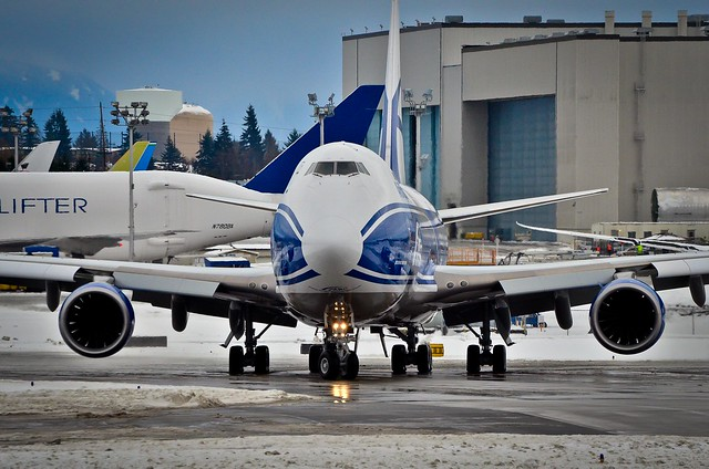 Head-on with Air Bridge Cargo VQ-BLQ