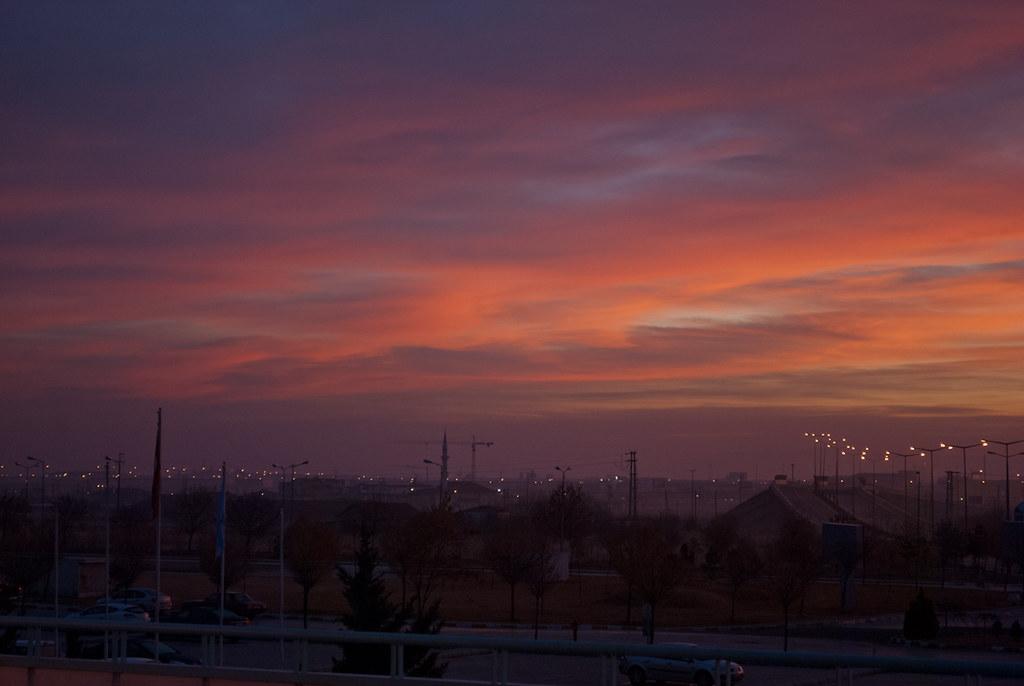 Fabulous sky! Çok güzel ;)