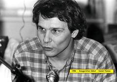 Inauguration de la Bibliotheque Elsa Triolet (Bobigny - 1986)Bib - Daniel Pennac