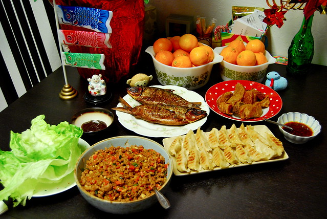chinese new years eve dinner | Flickr - Photo Sharing!