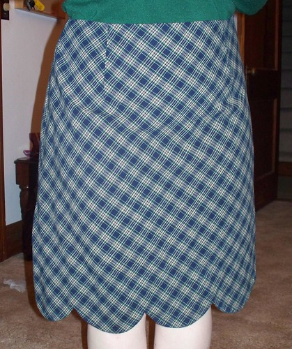 Meringue Skirt - Plaid