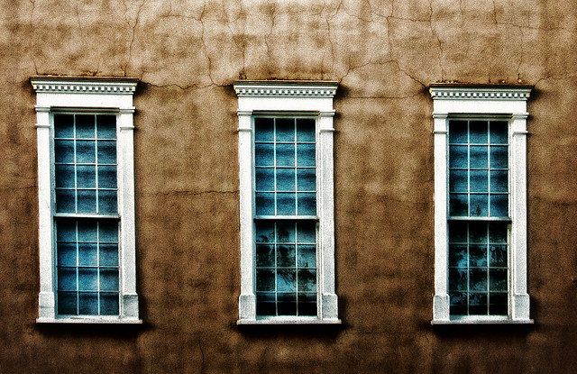 Three Santa Fe windows