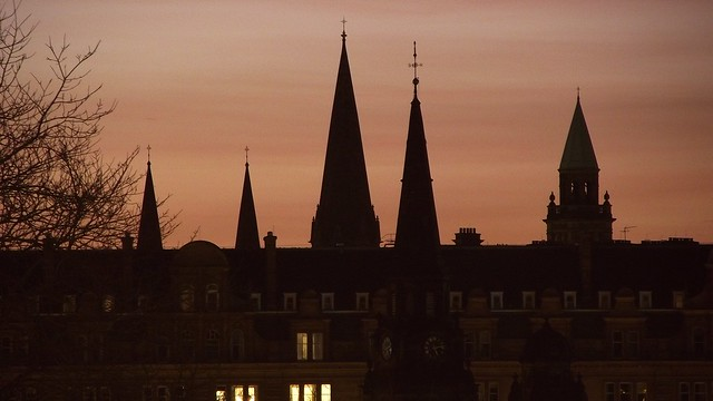 spire silhouettes