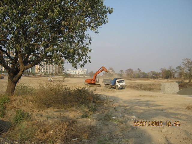TechMahindra & the site of Kasturi Housing's EON Homes, Hinjewadi Phase 3