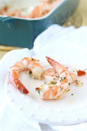 Cookin' Canuck - Roasted Shrimp with Rosemary, Garlic & Lemon Recipe