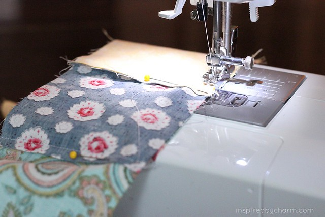 A Quilt {IBC} - sewing
