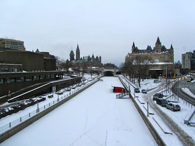 Rideau Canal, Ottawa, Canada