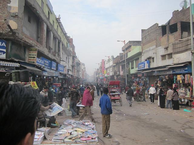 my street, Paharganj, Delhi