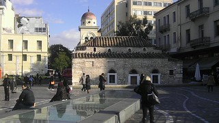Image of Monastiraki Square near Athens. square athens greece 100views 50views monastiraki αθήνα πλατεία μοναστηράκι htcevo3d flickrandroidapp:filter=none