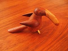 Danish Teak Tucan pepper grinder