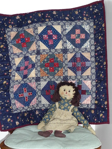 Completed Crosses Mourning Quilt