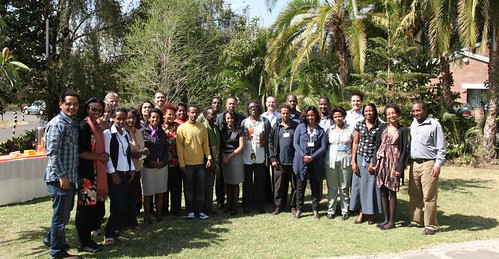 Group photo: partnership and Communication meeting 2012