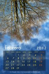 Calendario febrero 2012